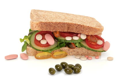 Synofit Premium avec d'autres produits alimentaires